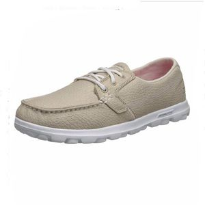 Skechers On The Go Skip On Lace up Boat Shoes 7.5
